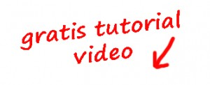 gratis tutorial video