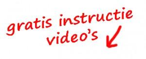 gratis instructie vidoes