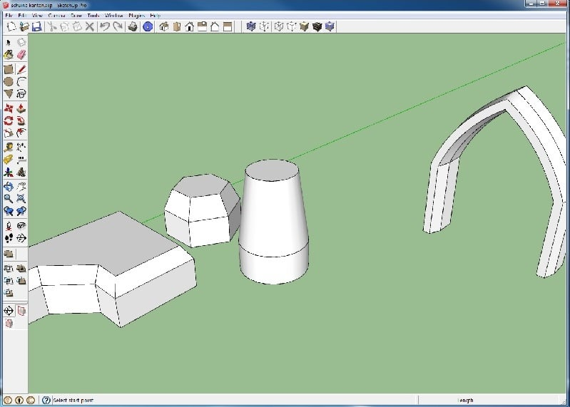 autofold sketchup movie functie