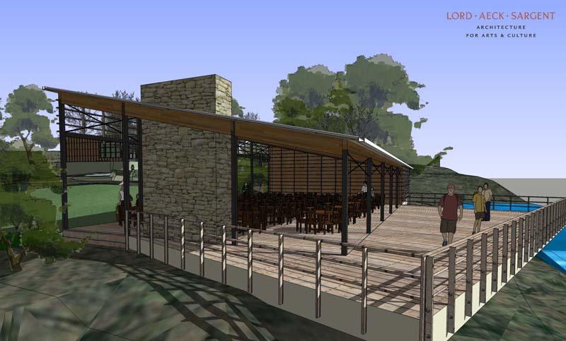 sketchup architectuur  natuurcenter 3