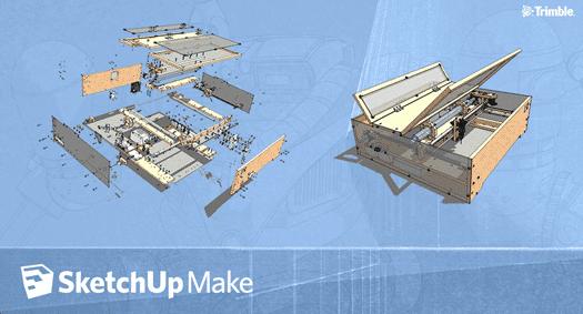 sketchup-make - gratis versie