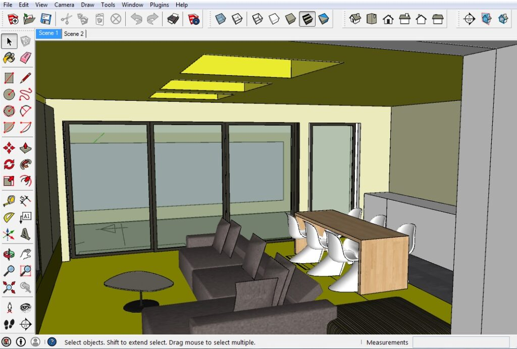 sketchup nederlandse interface