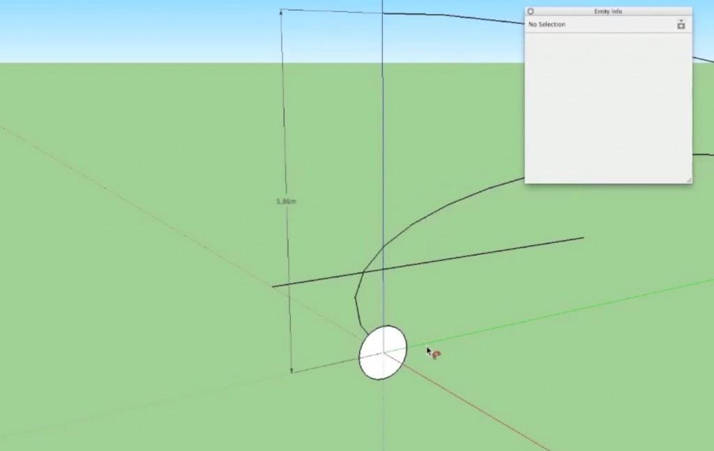 hoeveel segmenten in sketchup model