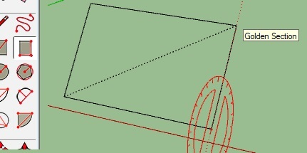 sketchup 2015 roatate rectangle