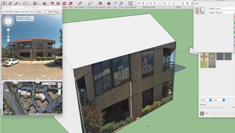 huis voorstellen sketchup