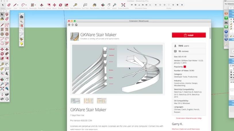 stair maker