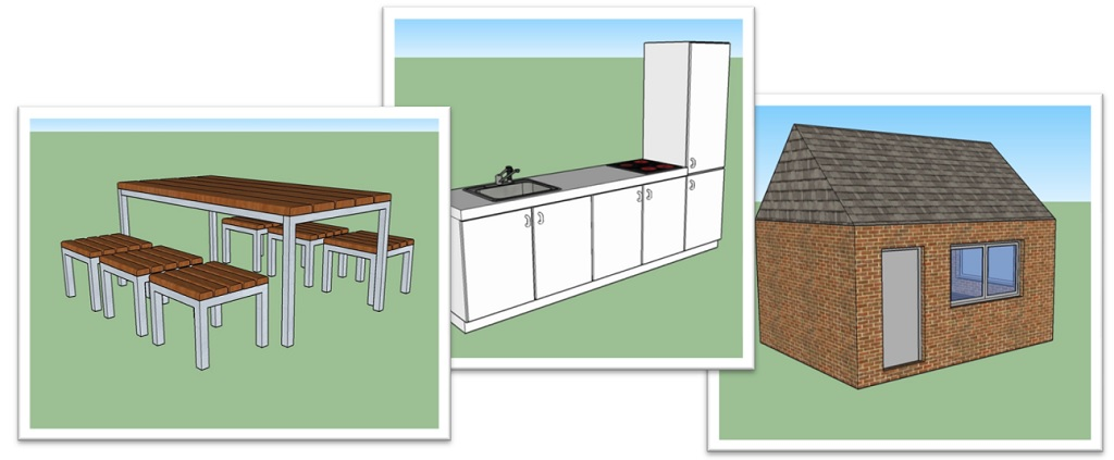 sketchup demo tutorials