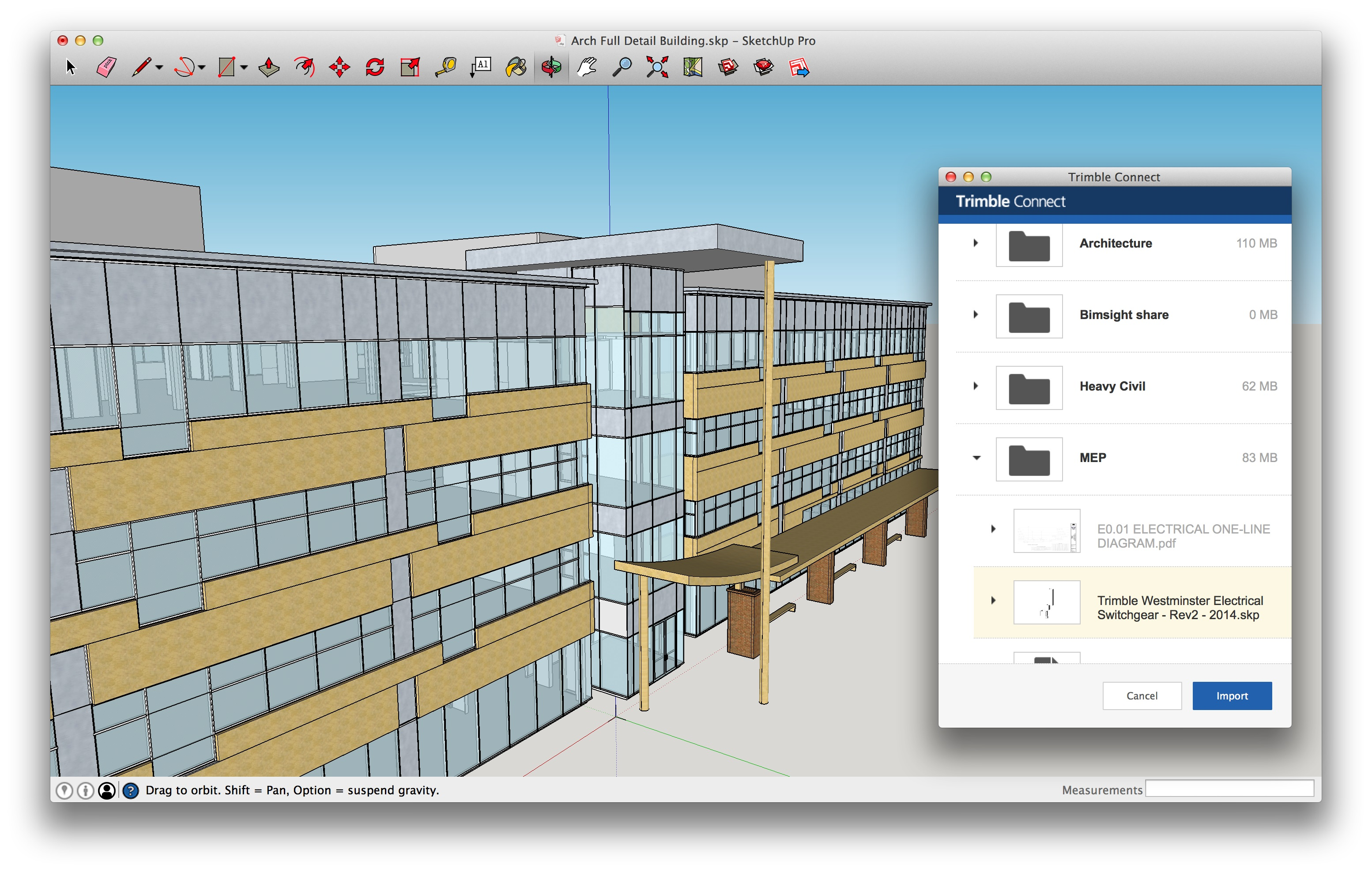 Trimble-Connect sketchup 2016