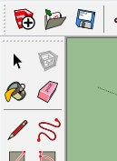 grote iconen sketchup