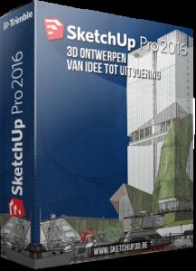 sketchup 2016 software box