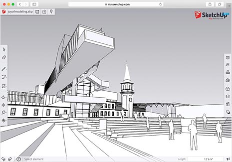 Sketchup 2018 3d tekenprogramma zelf een 3d tekening maken for Tekenprogramma bouw