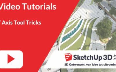 7 SketchUp Axis Tool Tricks?